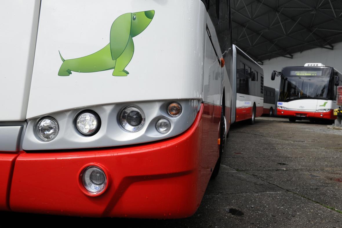 Nový autobus Solaris