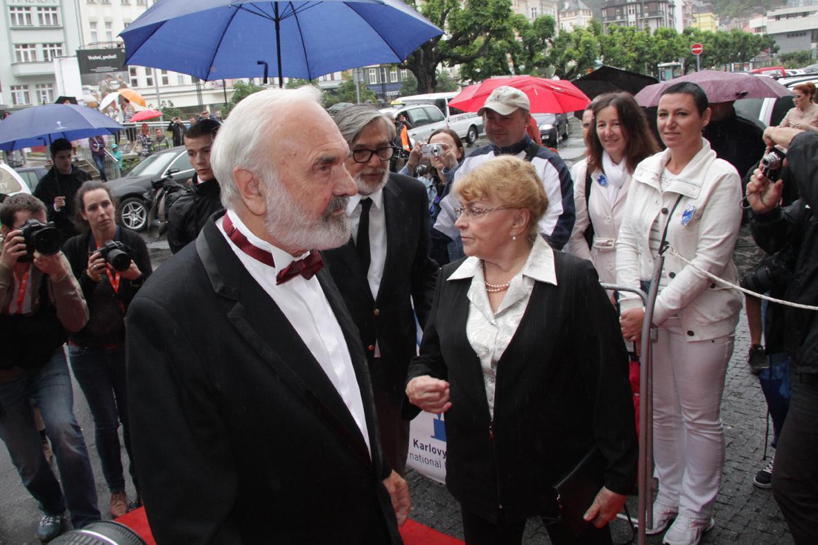 Zdeněk Svěrák na 49. MFF Karlovy Vary