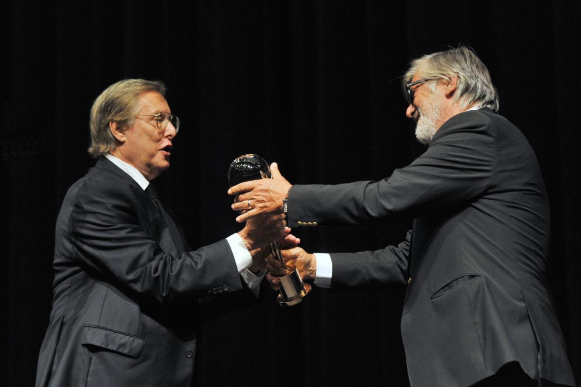 William Friedkin a Jiří Bartoška
