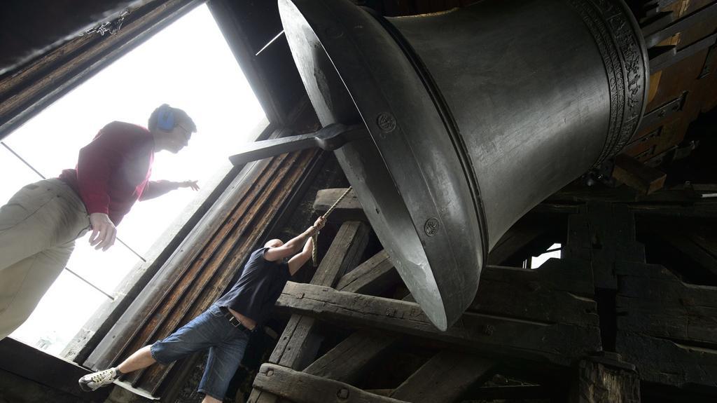 Zvon v Chrámu Matky Boží před Týnem v Praze