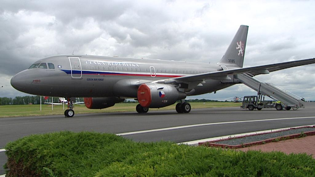 Airbus A319 létá do Afghánistánu pravidelně