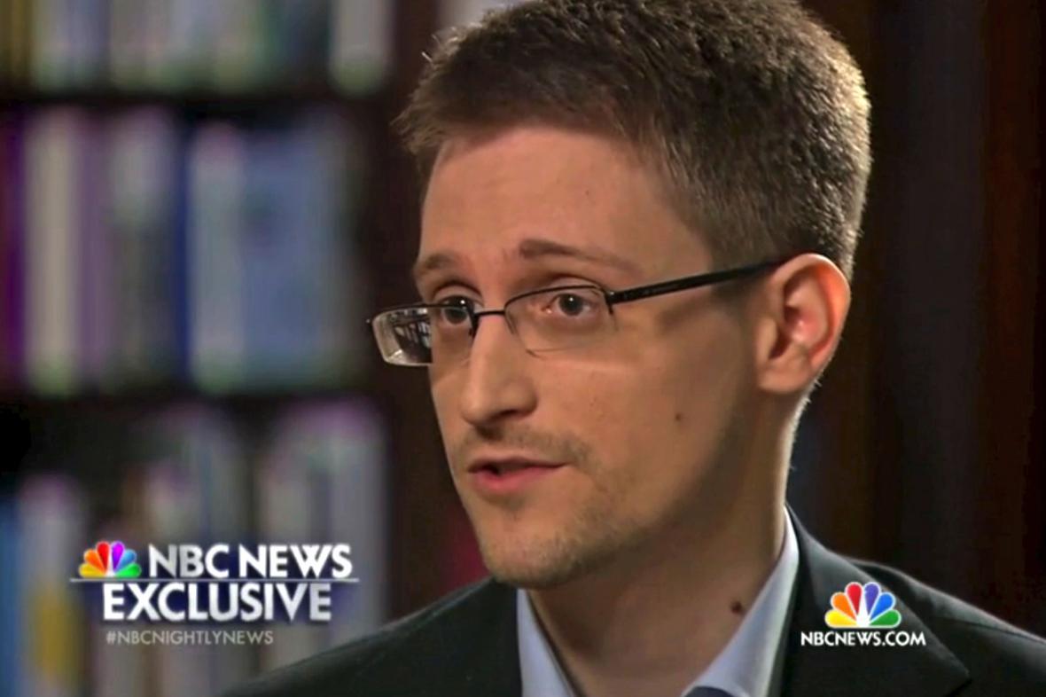 Edward Snowden v rozhovoru pro NBC