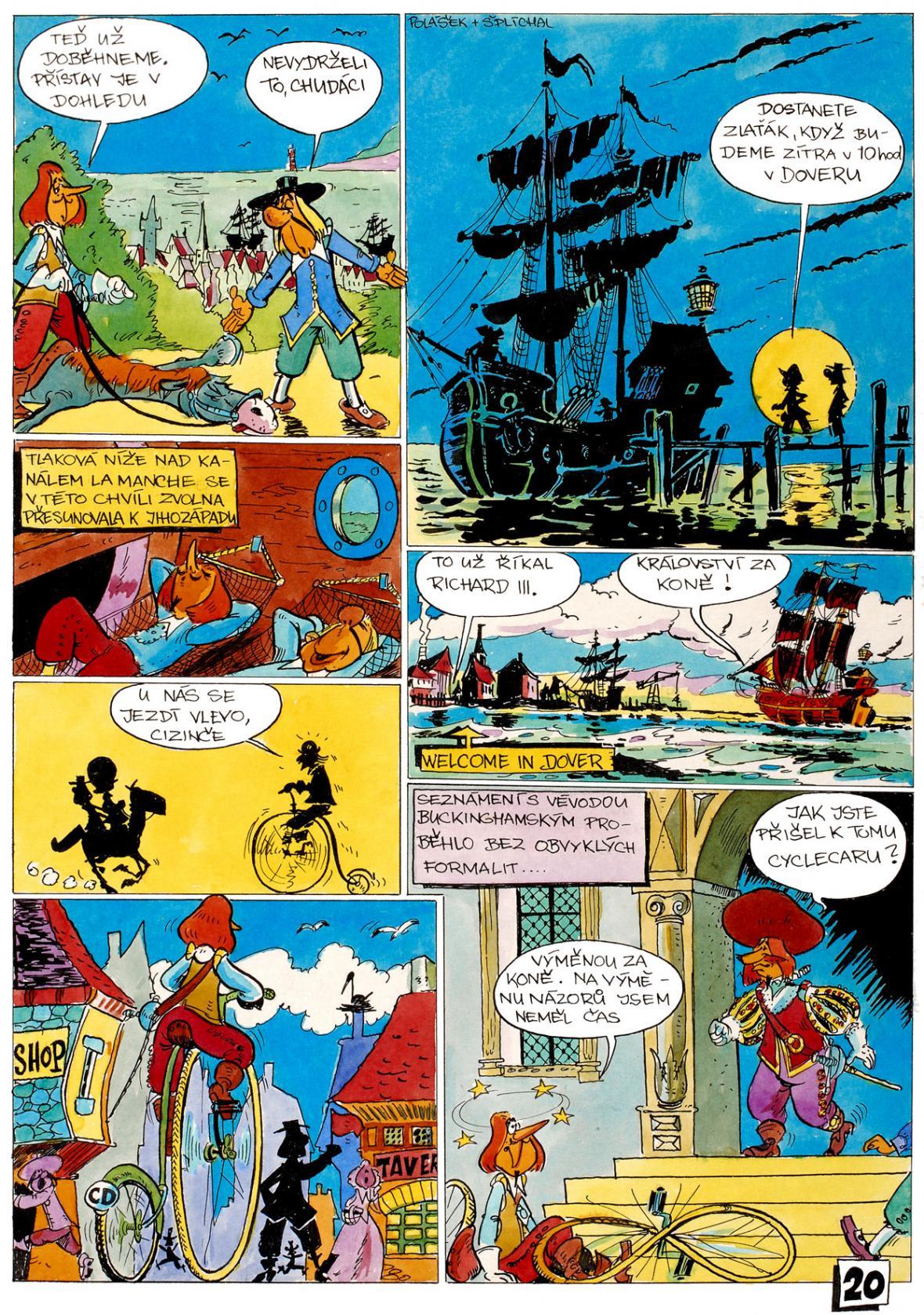 Komiks Tři mušketýři