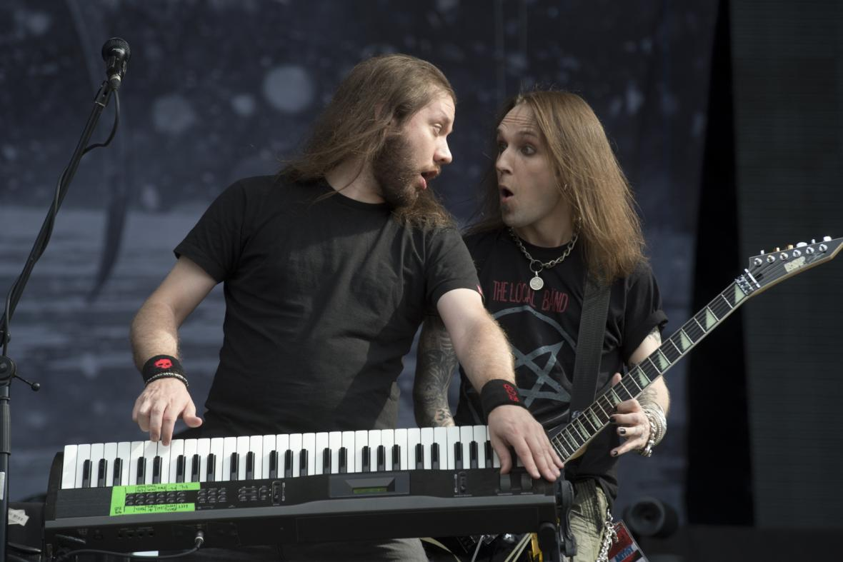Alexi Laiho (vpravo) a Janne Wirman