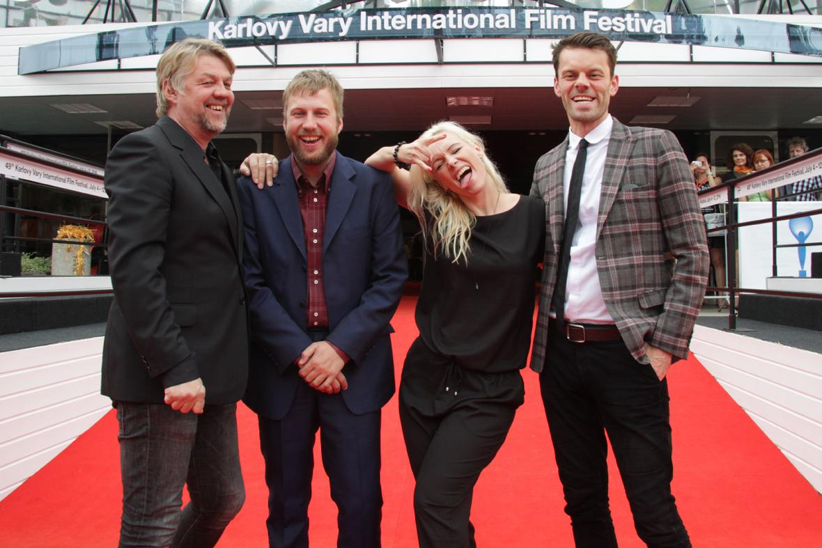 Delegace k filmu Paříž Severu