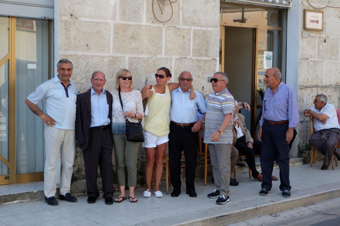 Výtvarnické soustředění na Sicílii