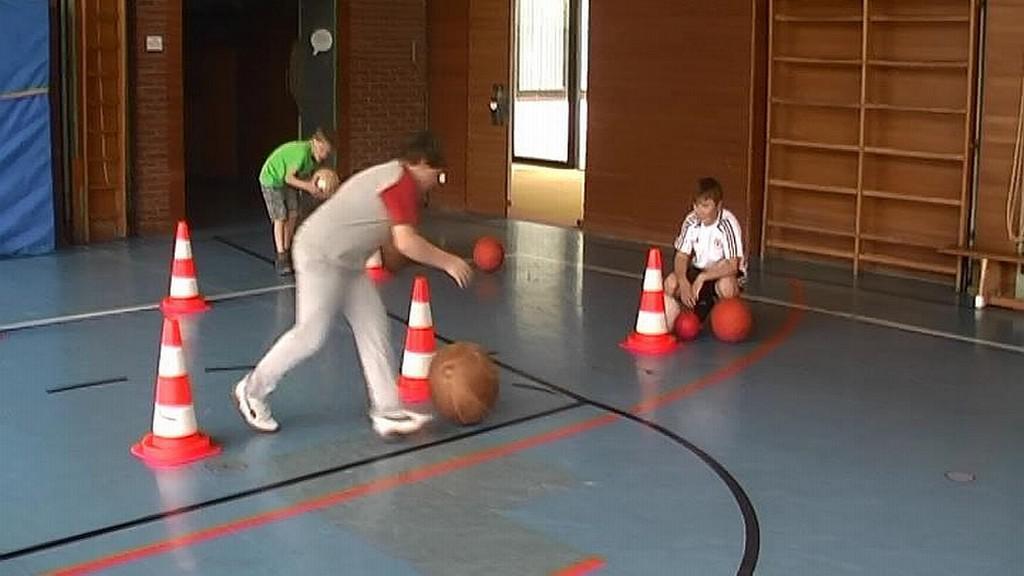 Děti si vyzkoušely míčové hry
