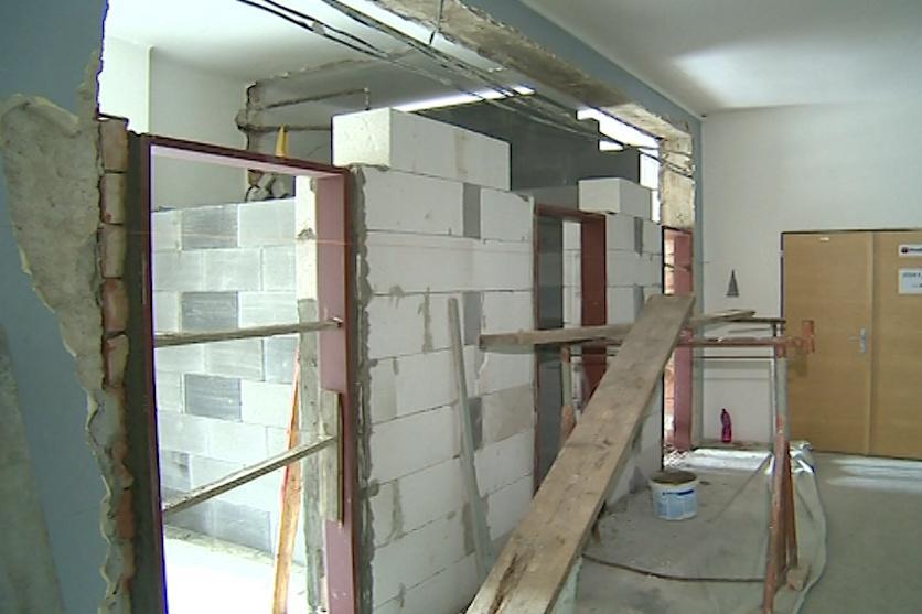 Přestavba čeká i sociální zařízení