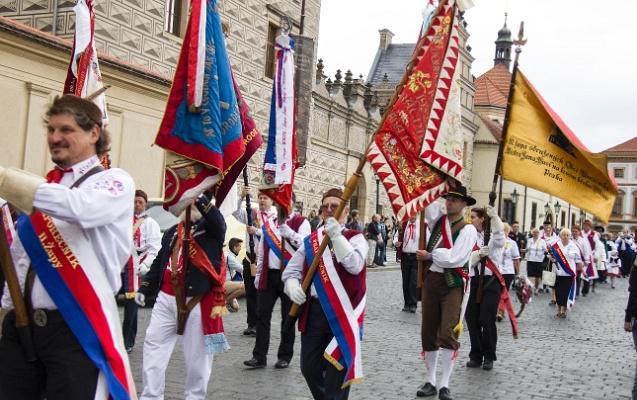 Baráčníci uctili památku T. G. Masaryka a oslavili výročí