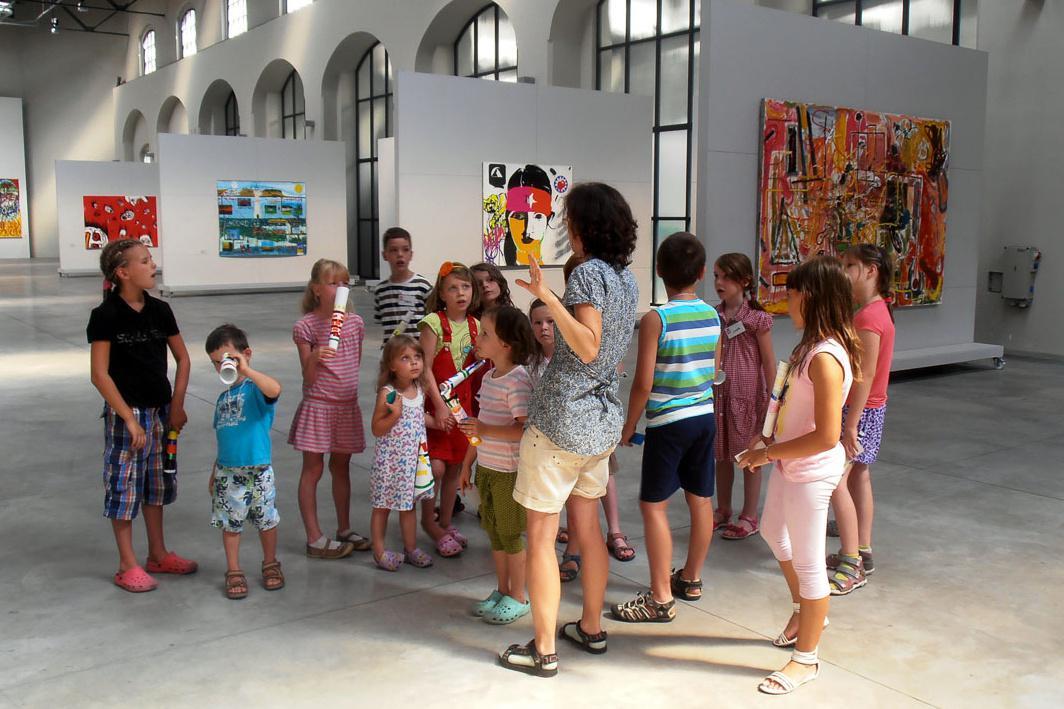 Letní výtvarný ateliér v Richard Adam Gallery
