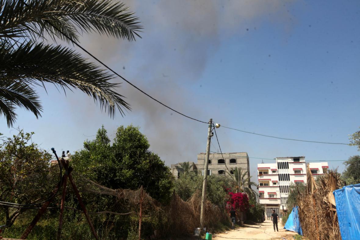 Ostřelování Pásma Gazy