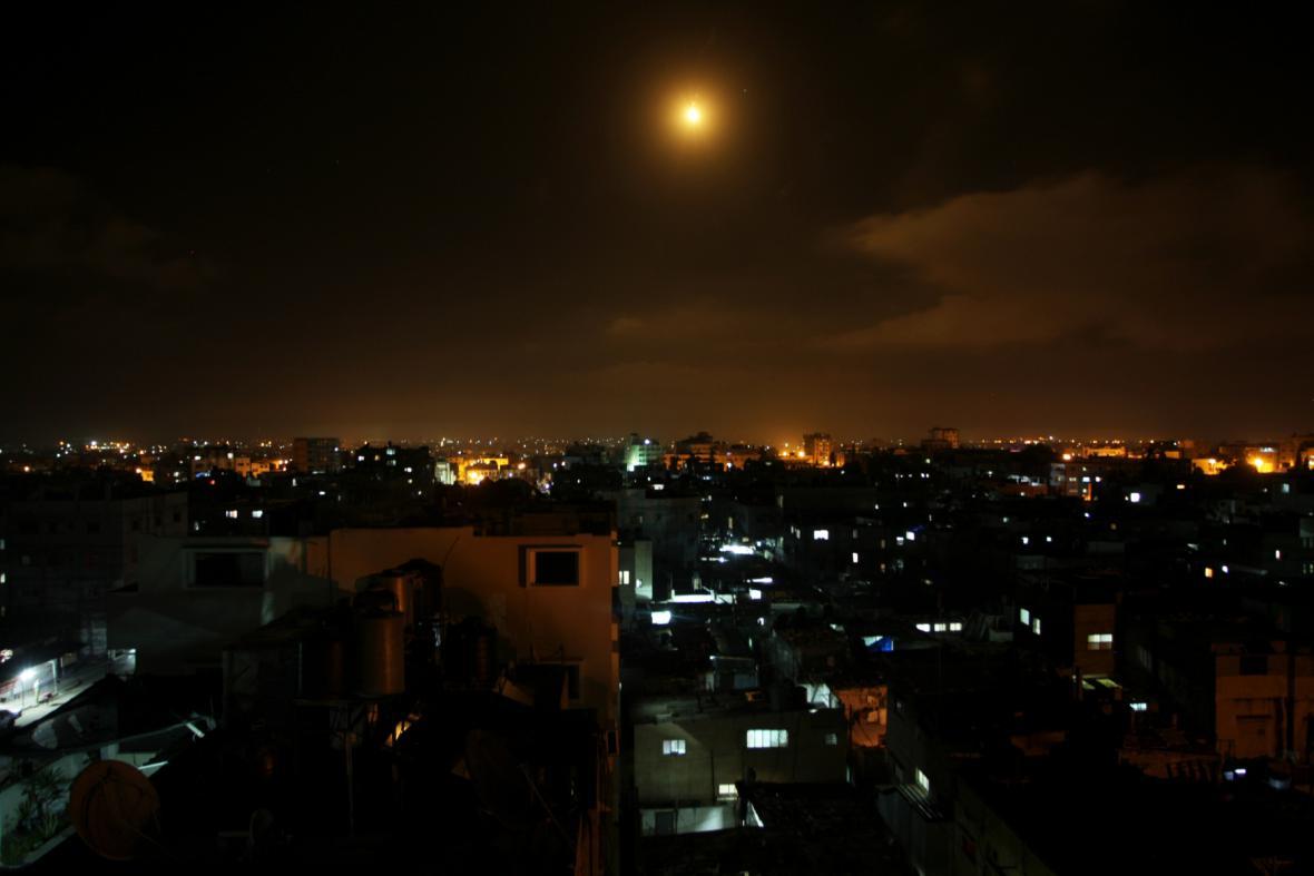 Izrael vypálil několik raket
