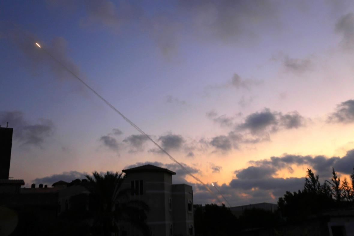 Na Izrael létají rakety z Pásma Gazy