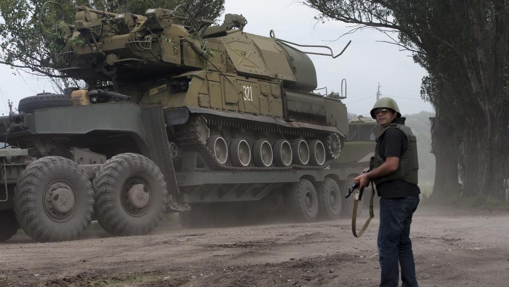 Armádní jednotky prolomily obranu Slavjansku