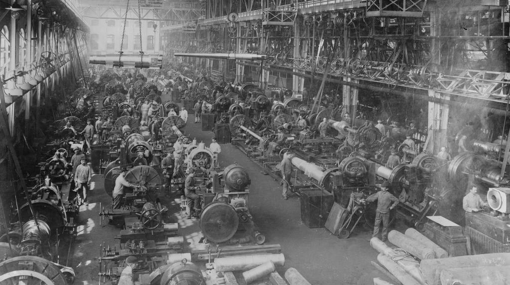 Kruppovy zbrojařské závody v Essenu