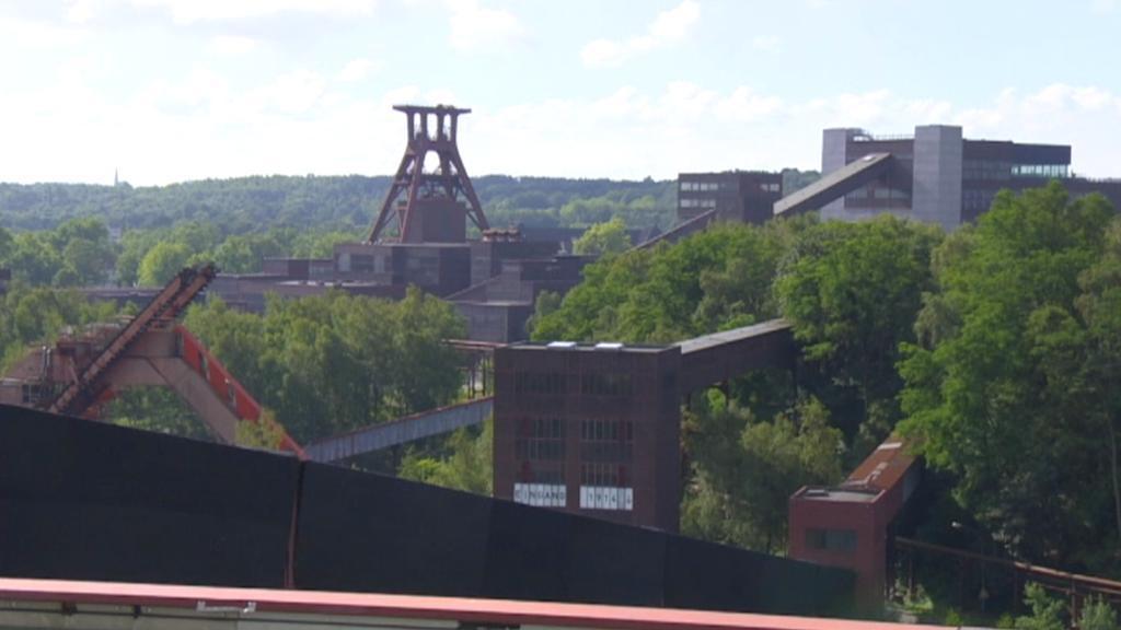 Někdejší slavné ocelářské závody v Essenu