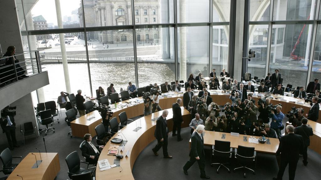Jednání výboru Spolkového sněmu