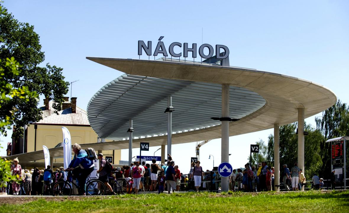 Nové autobusové nádraží v Náchodě