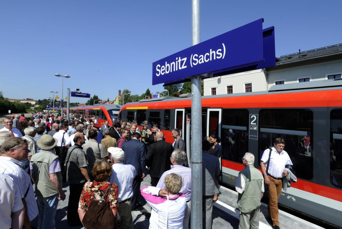 Obnovení provozu mezi Dolní Poustevnou a Sebnitz