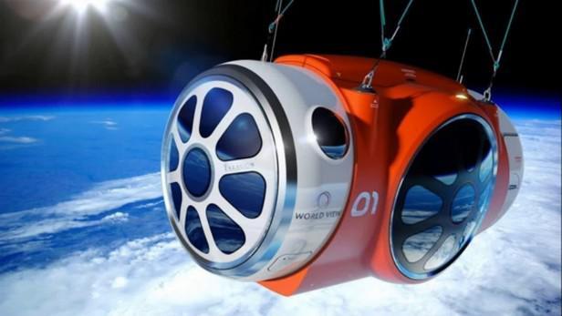 Společnost World View otestovala vesmírnou kapsli