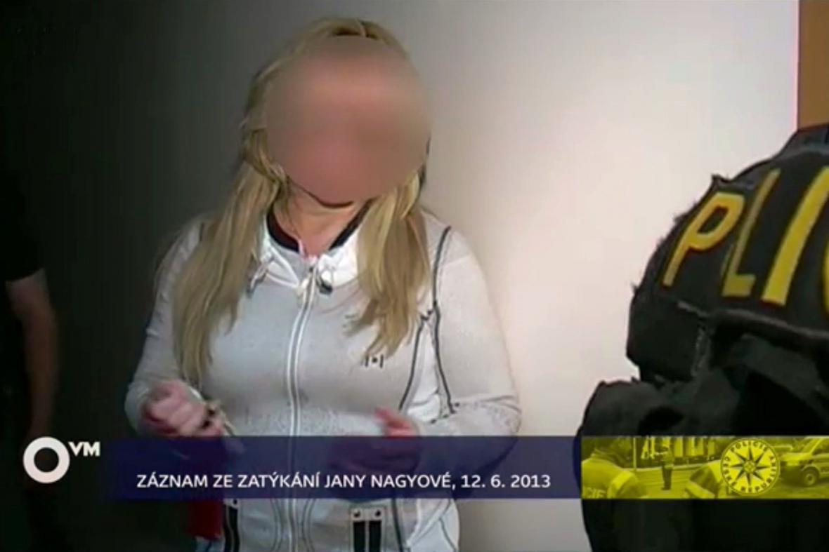 Zatýkání Jany Nagyové