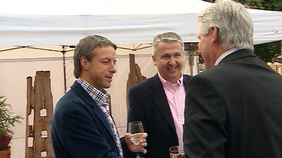 Pavel Bém a Karel Muzikář (uprostřed)
