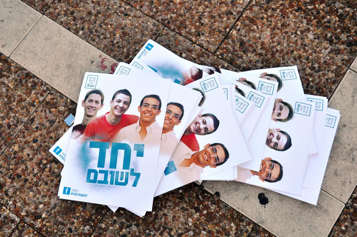 Pohřešovaní izraelští mladíci
