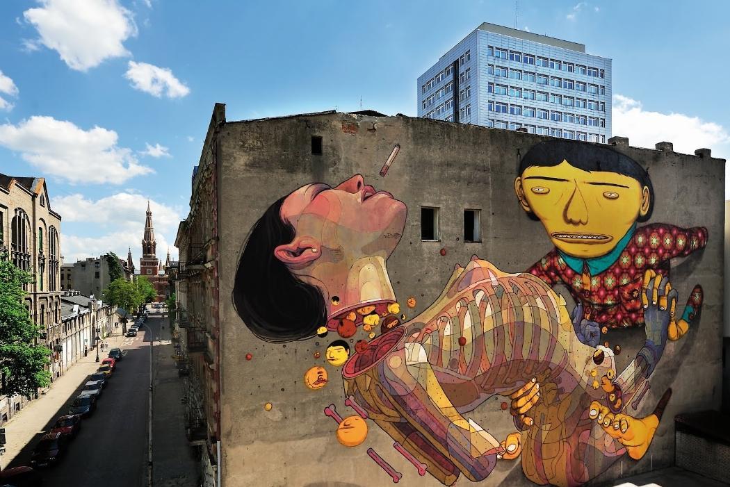Street Art, Lodž