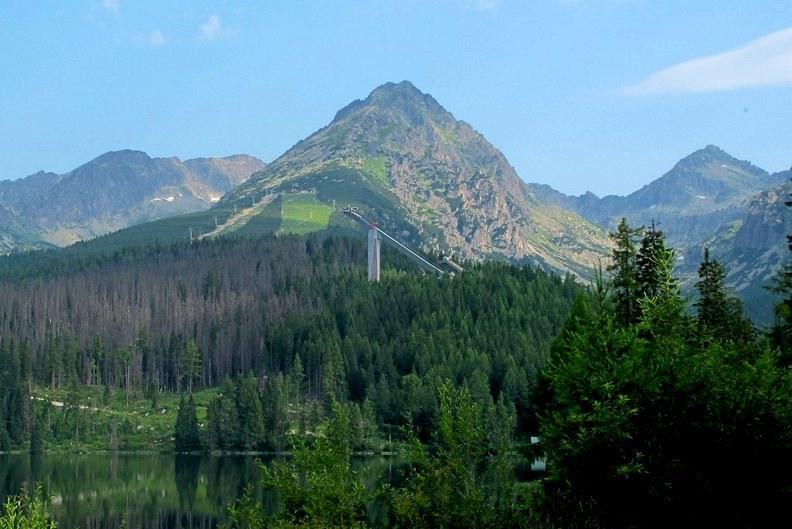 Jen minuty mohou na horách dělit krásné počasí...