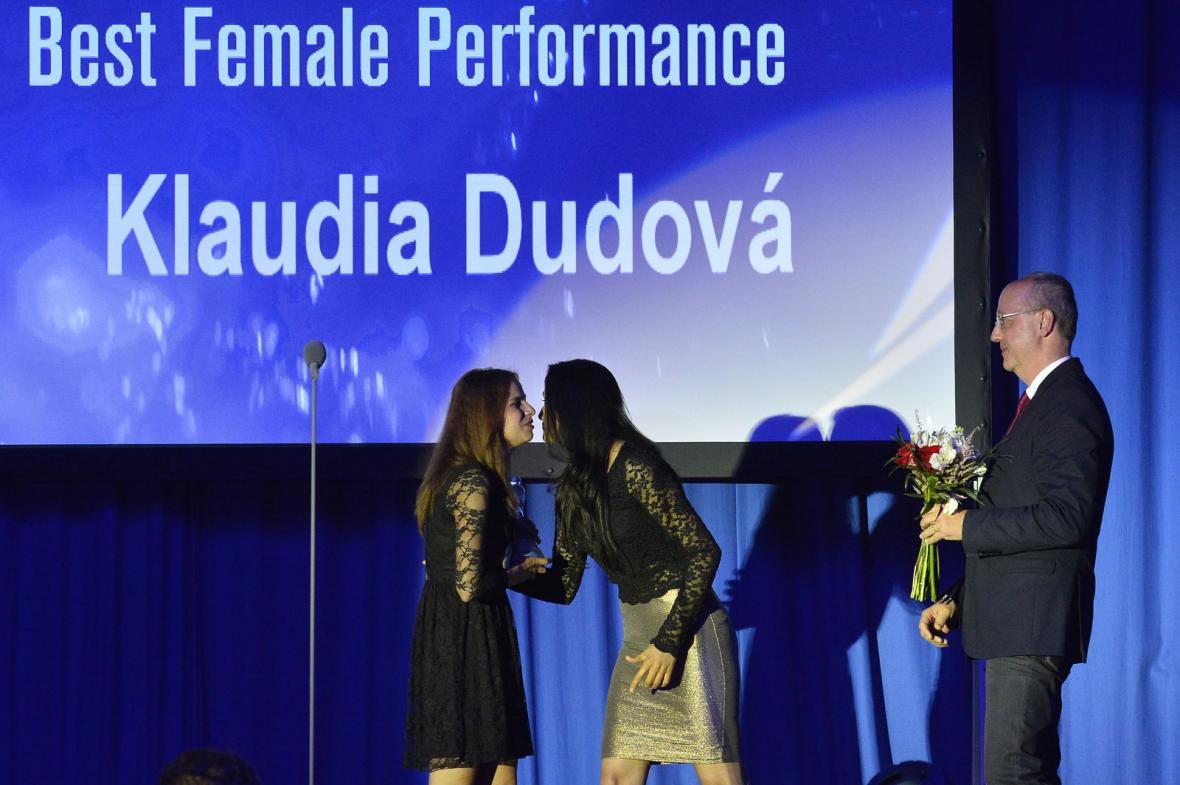Klaudia Dudová – nejlepší ženský herecký výkon