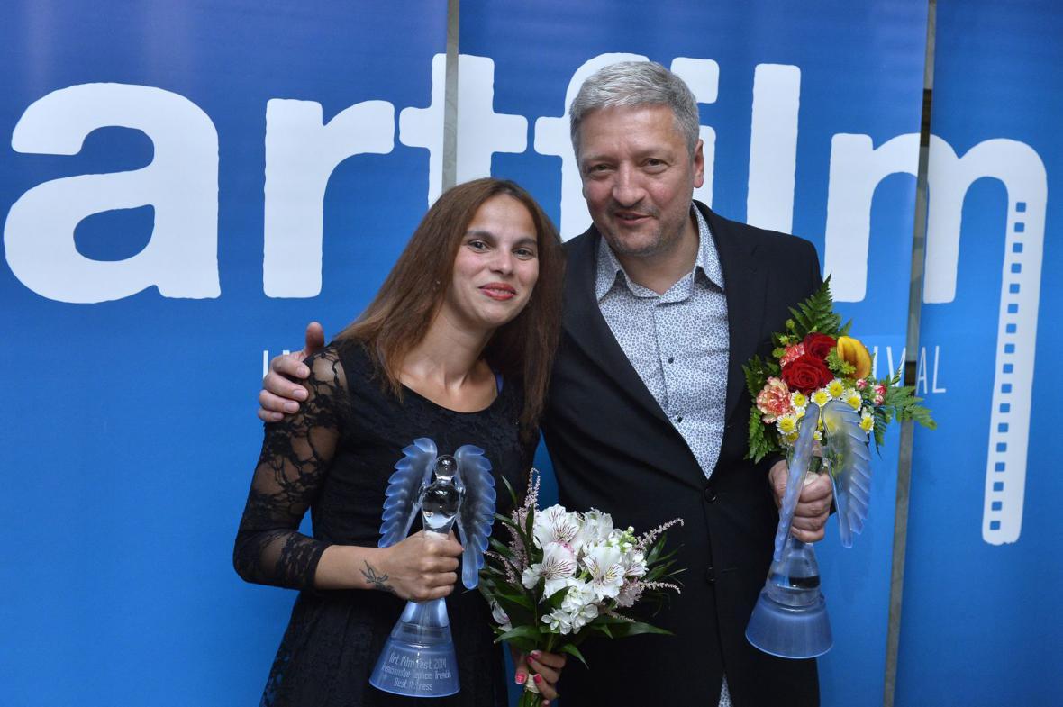 Klaudia Dudová a Miloš Lochman
