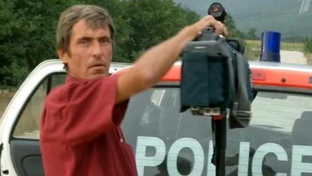 Zastřelený kameraman ruské televize