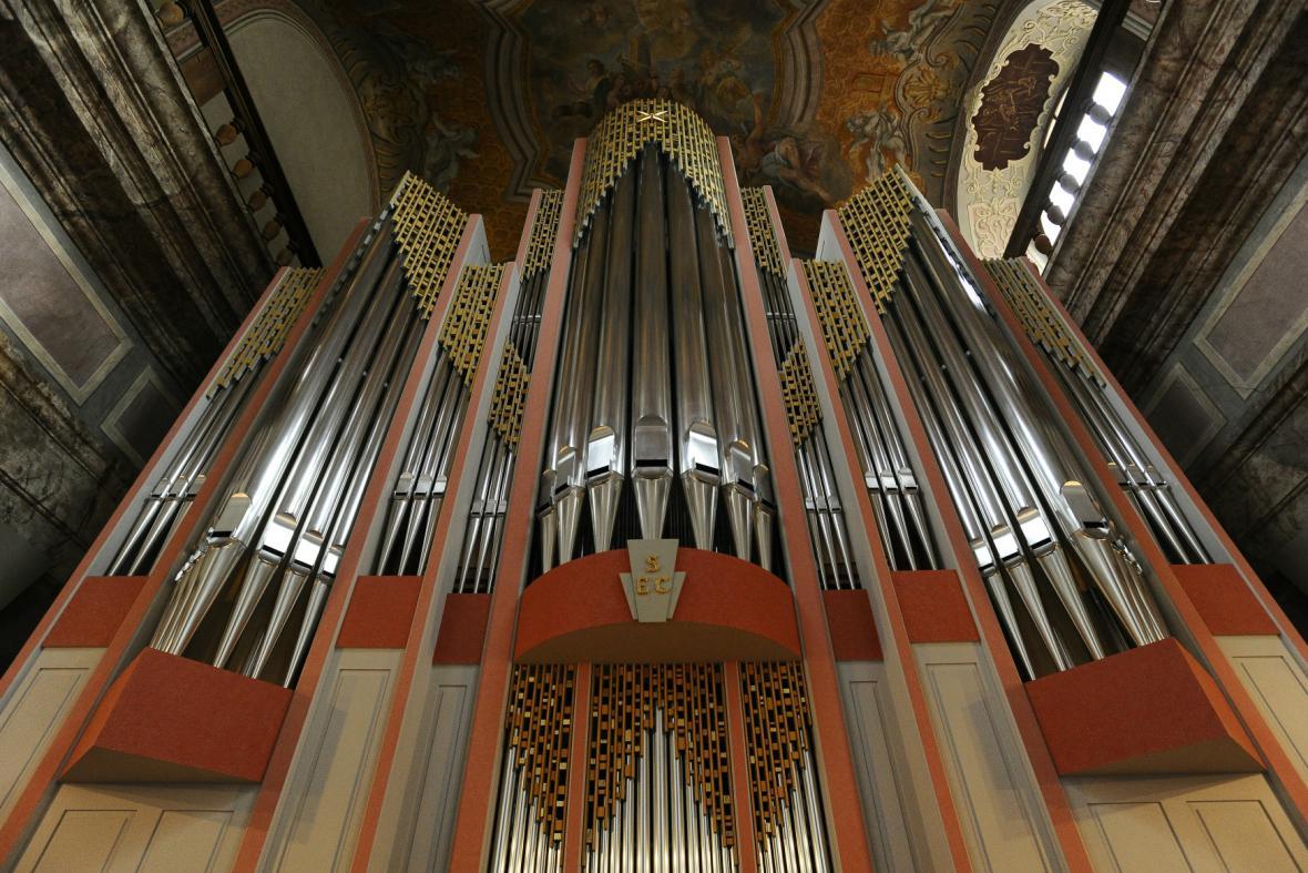 Brněnský kostel Nanebevzetí Panny Marie má nové varhany