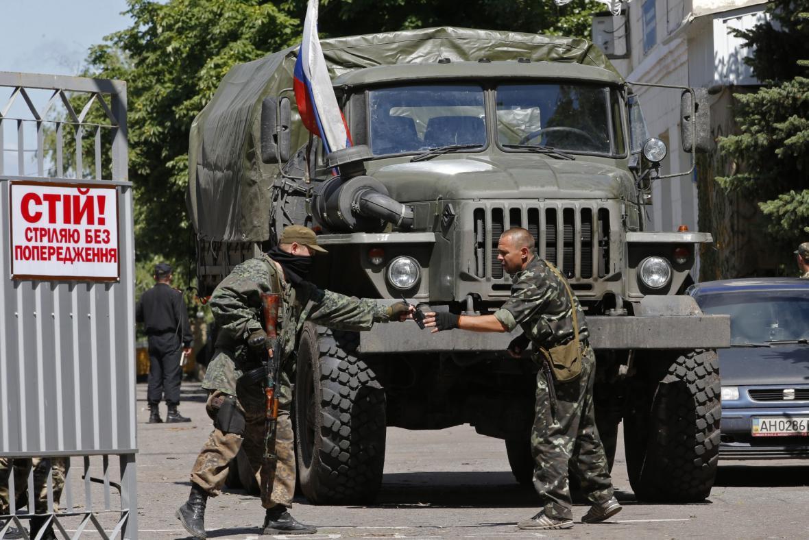 Nepokoje na východě Ukrajiny