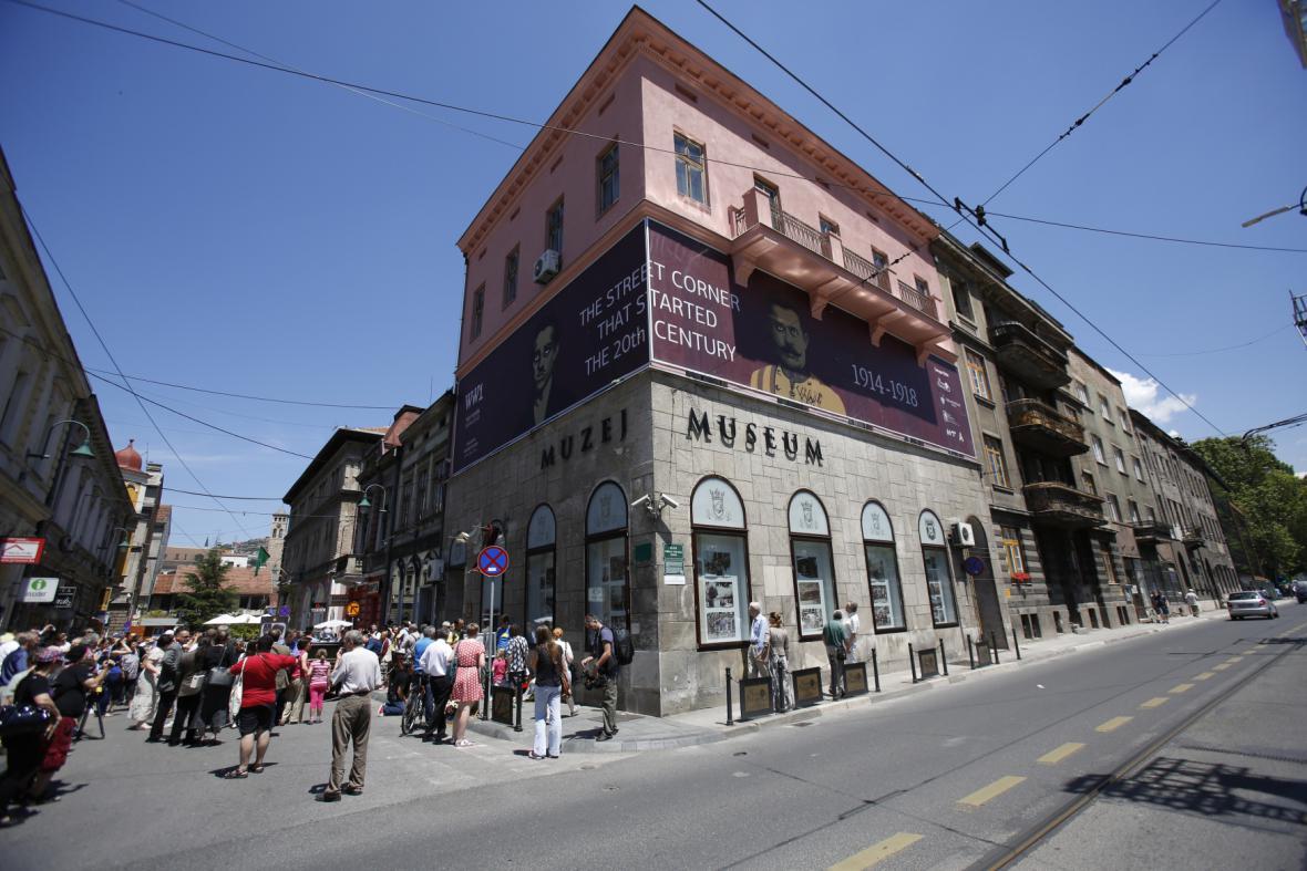 Sarajevo žilo výročím atentátu