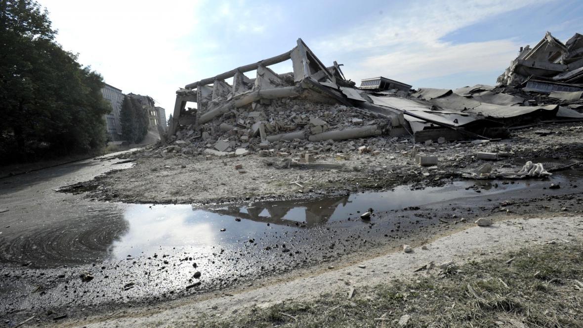 Výrobní haly zkrachovalého OP Prostějov šly k zemi
