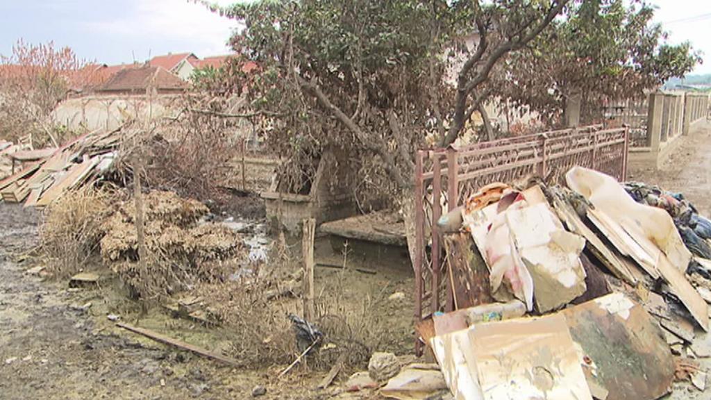 Měsíc po povodních v Obrenovaci