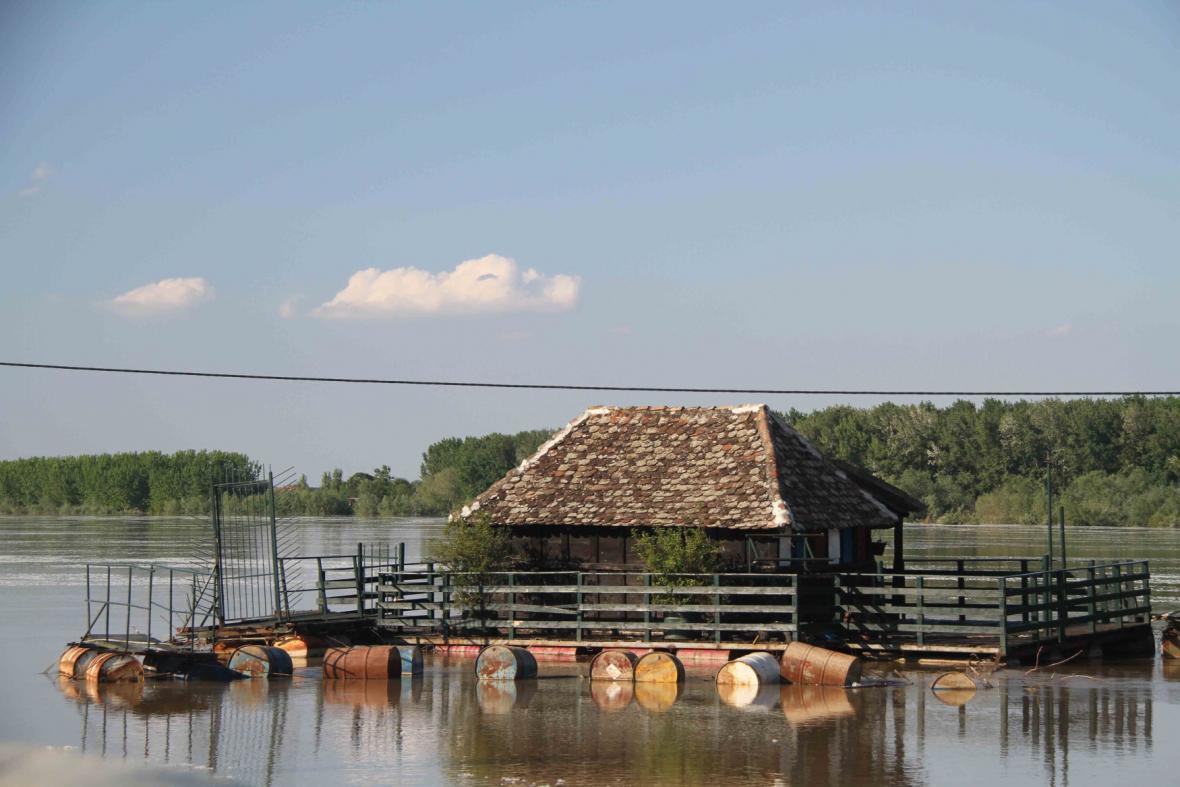 Povodně na Balkáně