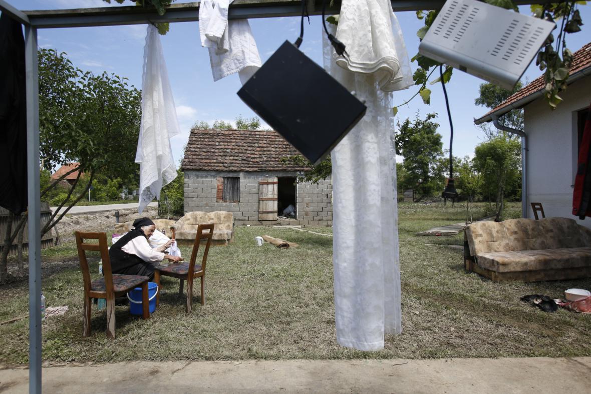 Povodně v Srbsku postihly i staré lidi