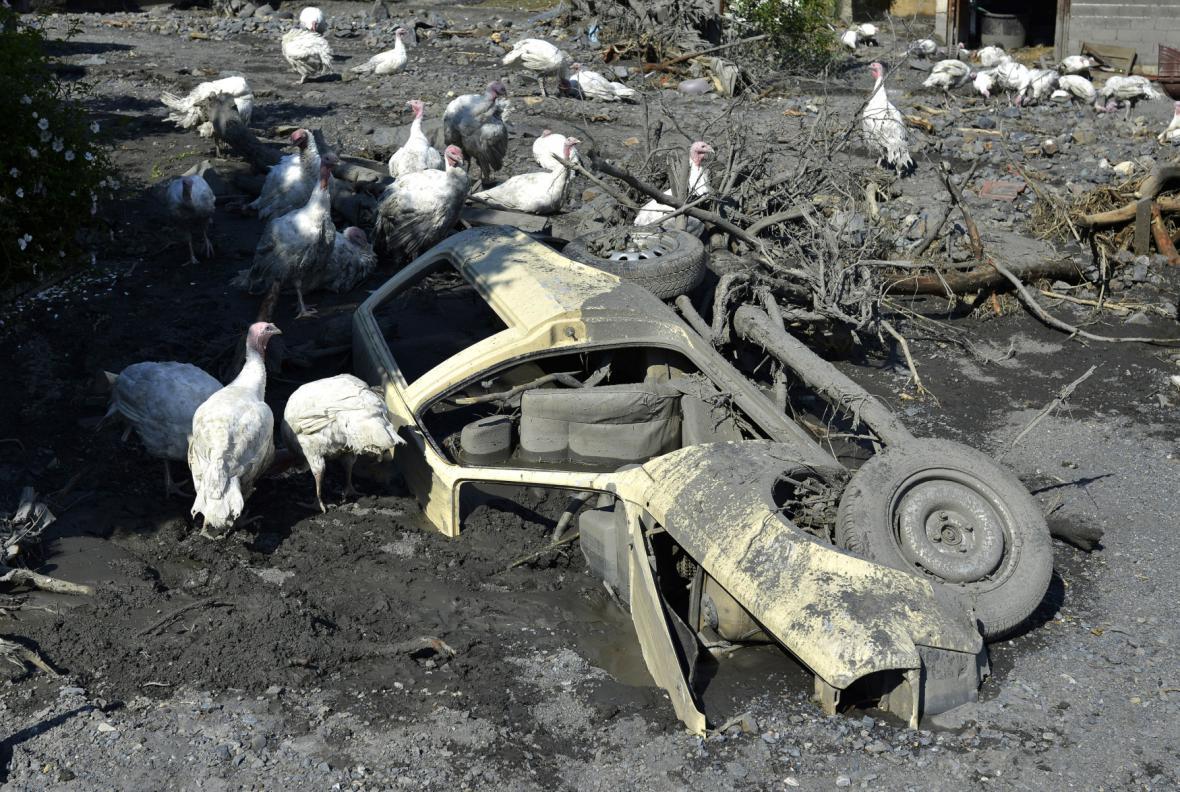 Následky povodní v Srbsku