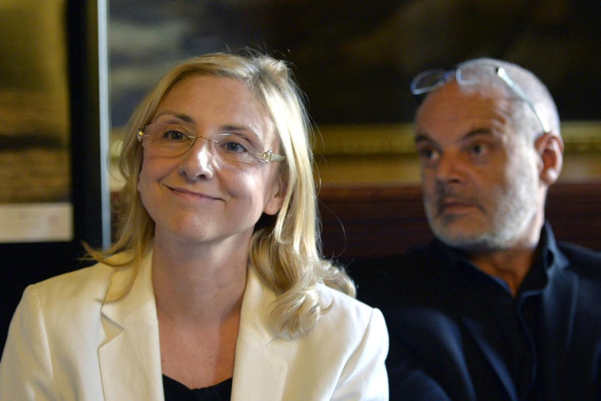 Silvia Hroncová a Petr Kofroň
