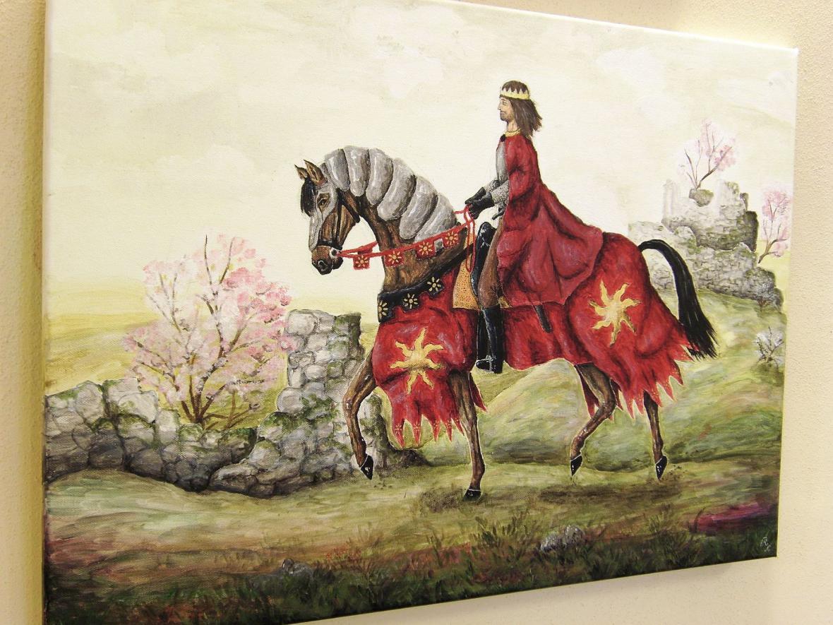 Z výstavy v Panském dvoře v Boskovicích