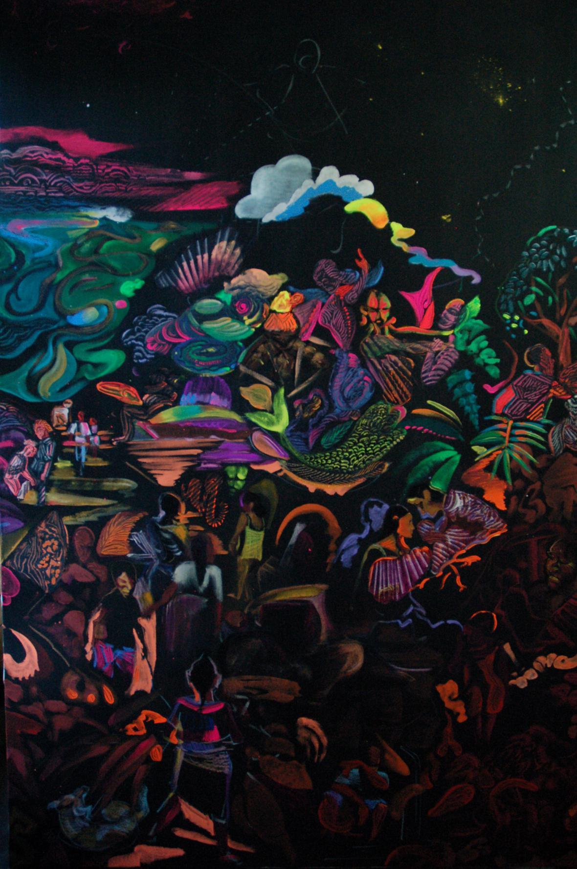 Otto Placht / Triptych Fascinativos III