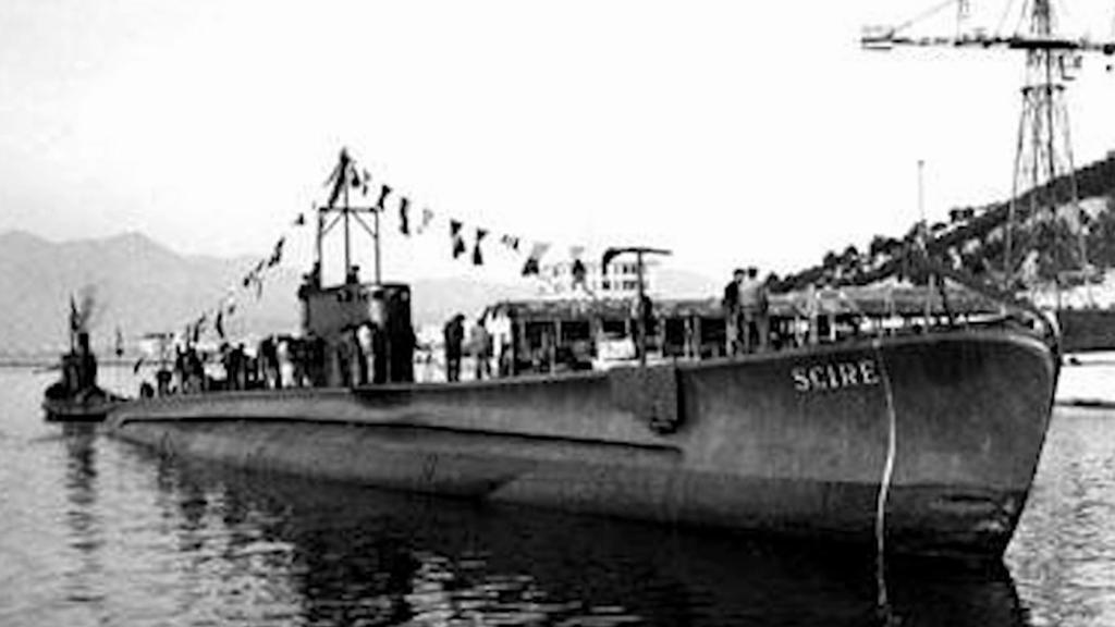 Ponorka Sciré v době největší slávy