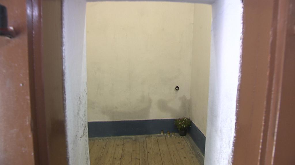 Cela č. 1 v Malé pevnosti Terezín, kde si Princip odpykával trest