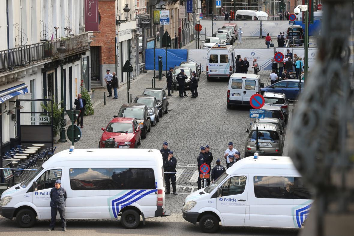 Střelba v Bruselu