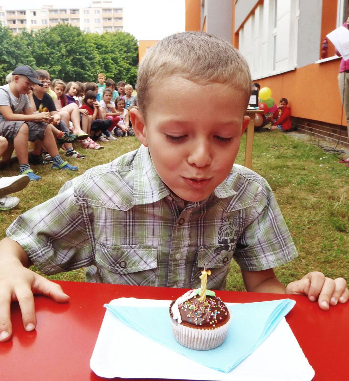 Oslava školní družiny Slovákova v Boskovicích