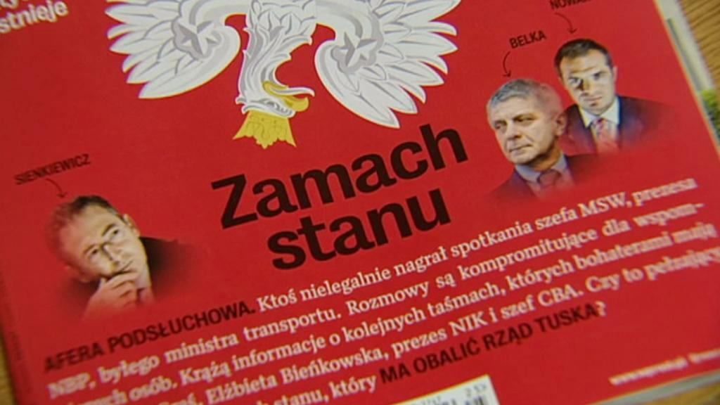 Skandál s odposlechy odstartoval časopis Wprost