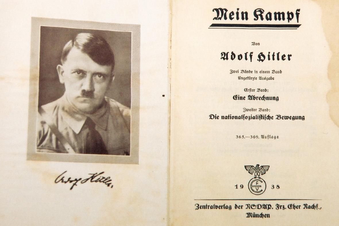 Vydání Mein Kampf z roku 1938