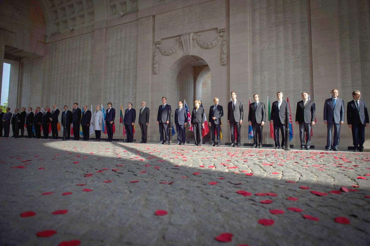 Politici uctili v Ypres památku válečných obětí